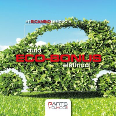 Parts Yo.Hoo!! ecobonus auto 2020 verde foglie